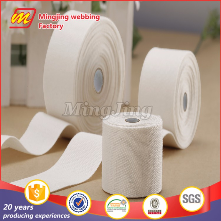 Eco-friendly cotton twill tape printed ribbon