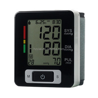 CE approved automatic digital wrist watch blood pressure monitor