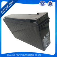 2016 China factory direct sell 12v 125ah batteries for power tools front terminal battery