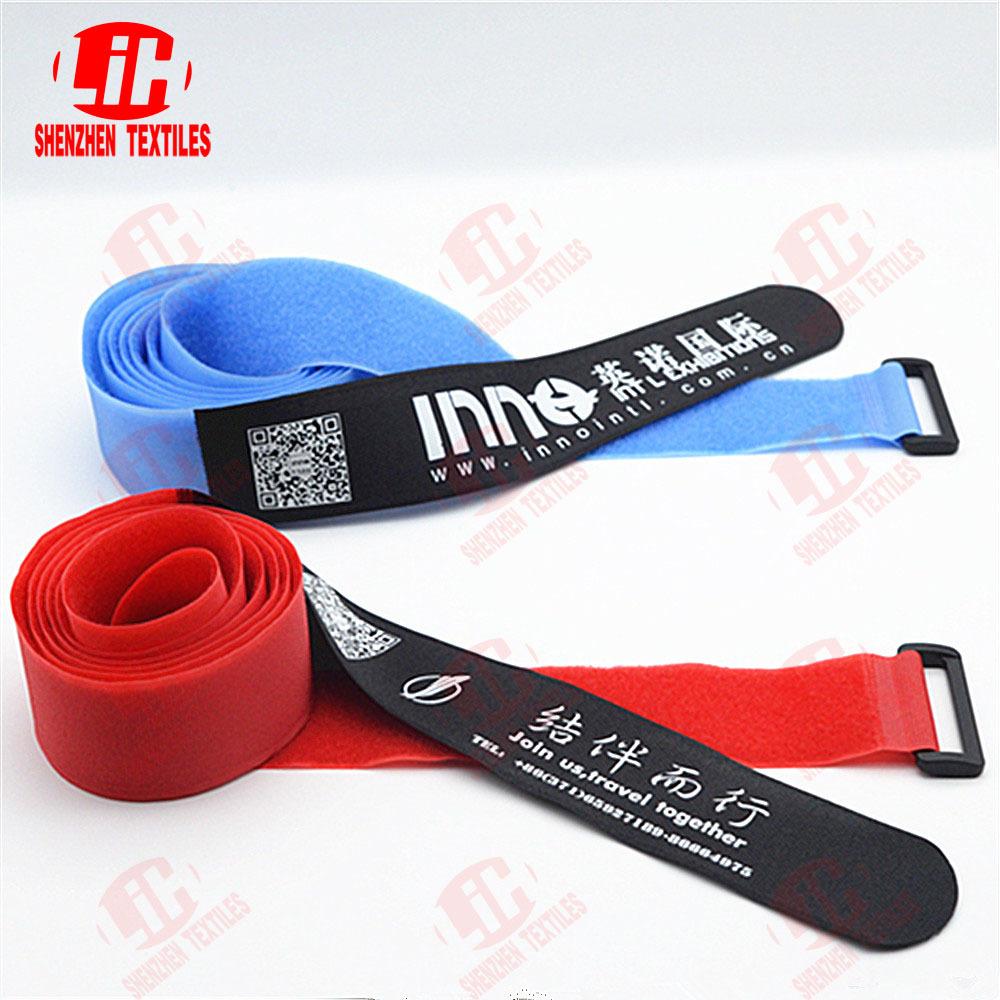 Adjustable Hook And Loop Binding Straps With Buckle Hook