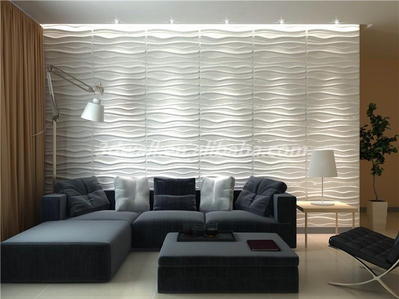 Groen Materiaal 3d Steen Behang 3d Decoratieve Behang Interieur 3d ...
