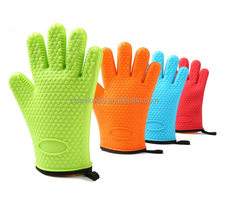 new short version silicone cotton liner glove pot holder