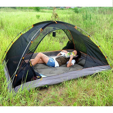 2 man PU coating Waterproof Canopy Tent camping