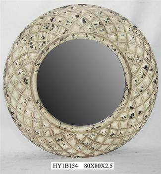 antique wooden decorative mirror corners for wedding decoration