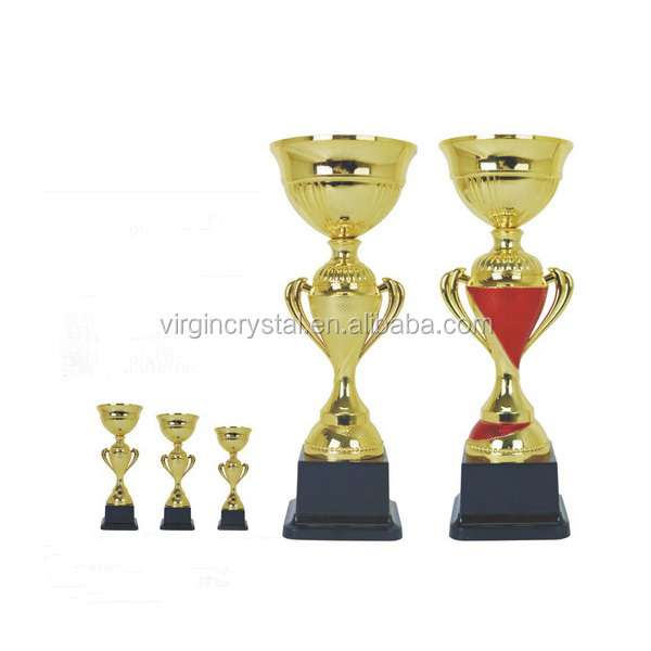 Economy Metal Trophy Cups in Sports or Academics