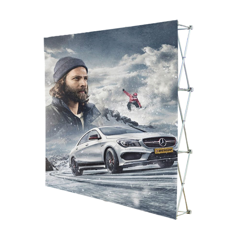 12 Portable trade show fabric display backdrop wall pop up display <strong>stand</strong>