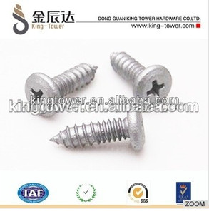 #10 x 1-1 2 Phillips Flat Head self tapping Wood Screws