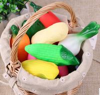 Creative kitchen toys set, educational simulation vegetables toy