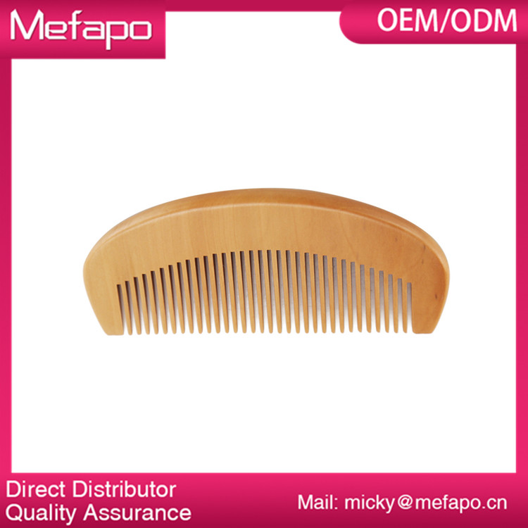 Wholesale Wood Mustache and Beard Comb Custom Logo