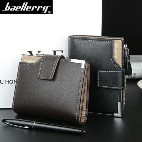2016 New Arrival casual man vertical Multifunctional zipper hasp wallet high quality men luxury purse money clips
