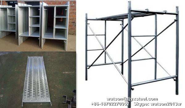 steel tubular ladder manson frame scaffolding 9001900mm ft