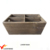 Reclaimed Shabby Garden Wooden Box Planter with blackboard