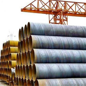 SSAW spiral welded carbon steel pipe 14'', carbon welded spiral steel pipe for oil pipeline CORTI'S TUNNEL