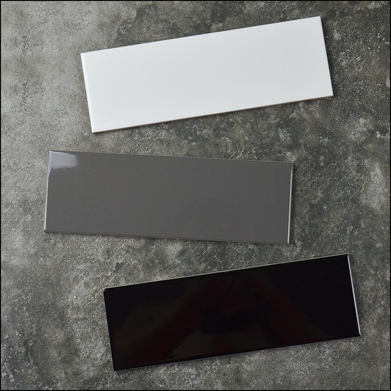 Badezimmer Küche Matte Boden Fliesen X Cm Wohnung Glänzend - Fliesen 10 x 30 weiß