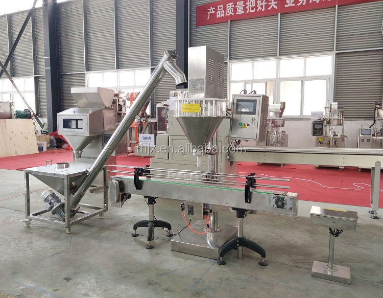 1kg semi auto powder filling packaging machine