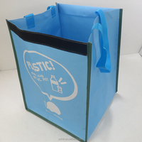 Eco Friendly Custom Made Non Woven Shopping Bags