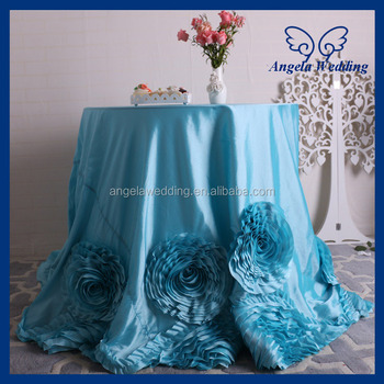 Cl052e Fancy Elegant Round Ruffled Flower Fancy Wedding