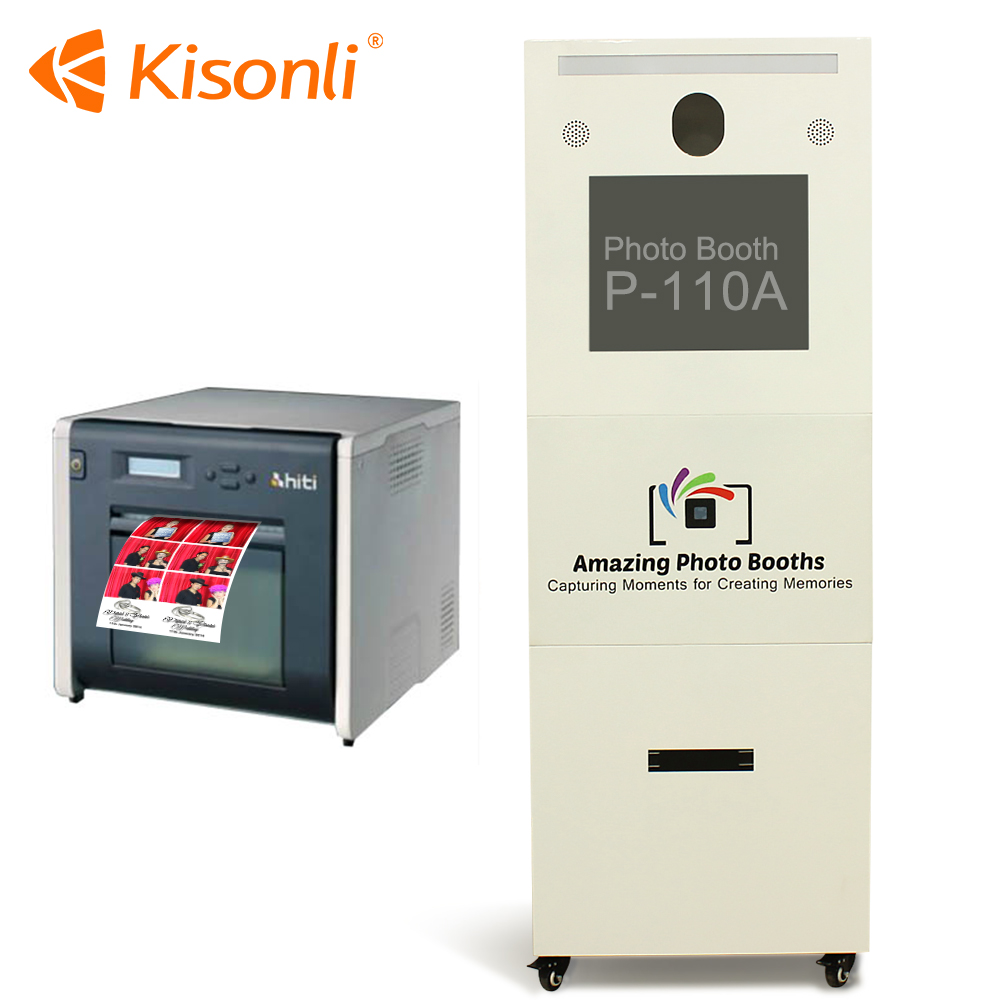 Newly Design Touch Screen Photo Booth Vending Machine sales