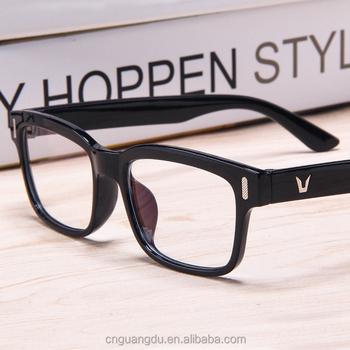 8b473d787 Óculos de Computador de moda Mulheres Homens Óculos de Leitura Quadro Lente  Clara Óculos Frames Nerd