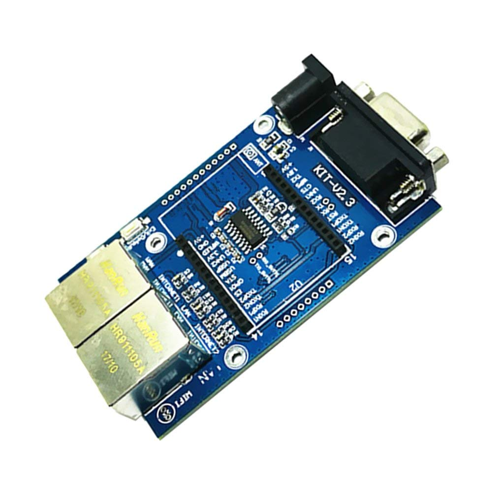 WIFI501 WiFi Module Mother Expansion Board for WIFI232 with USB to UART RJ45 Ethernet connectors @XYG