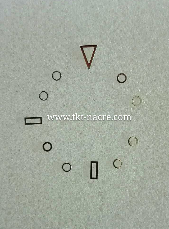 Figures Index Set For Watch Dials or Cadrans
