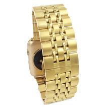 Браслет из нержавеющей стали для Apple Watch 5 4 полоса 42 мм браслет для iwatch серии 5 1/3 42 мм ремешок для iwatch серии 4 40 мм 44 мм(Китай)