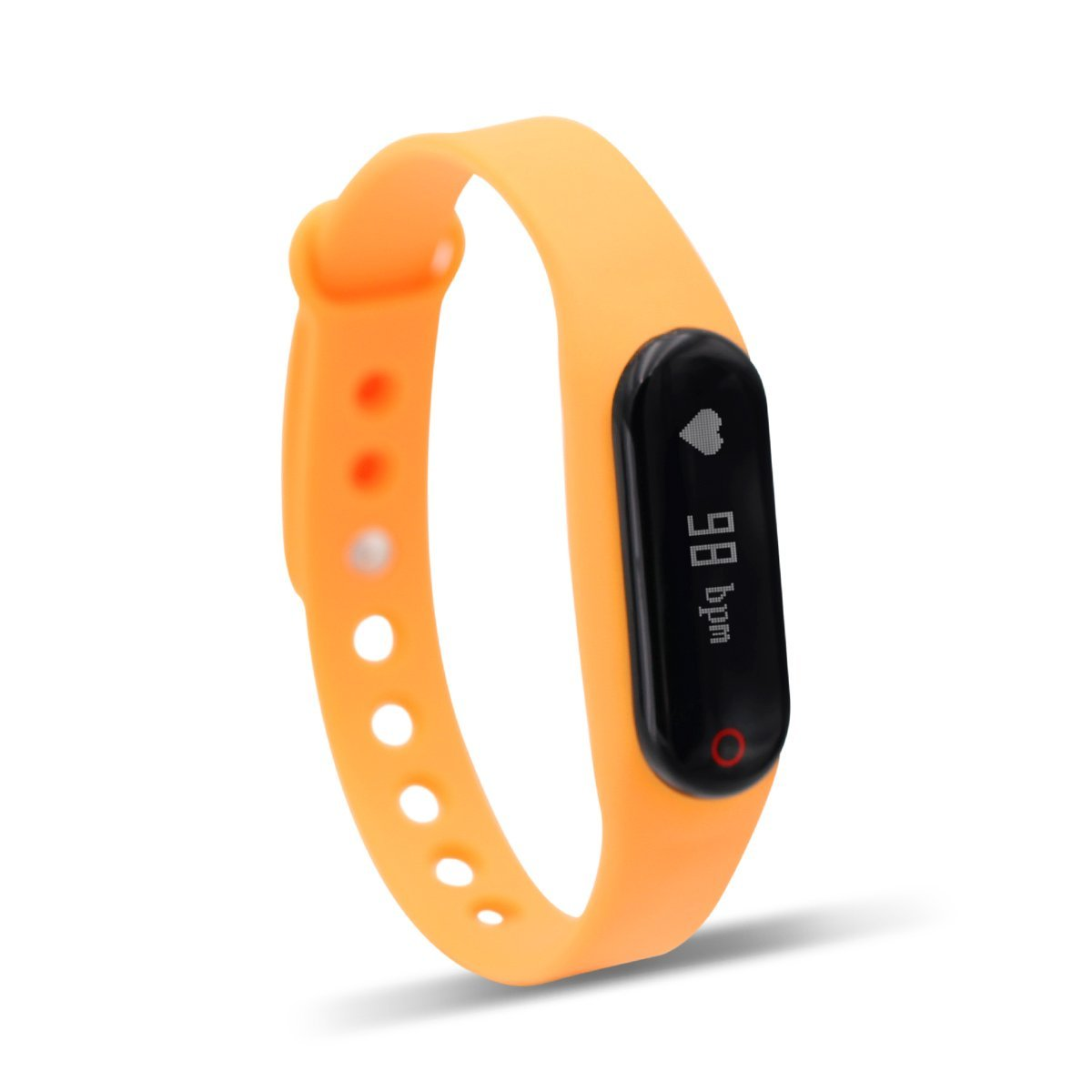 """0.69"""" Inch OLED Bluetooth 4.0 Smart Bracelet Sport Fitness Activity Trackers, Heart Rate monitor , Remote Camera By Shake & Movement Mileage, Calories Burnt, Compatible With All Android & iOS Phone"""