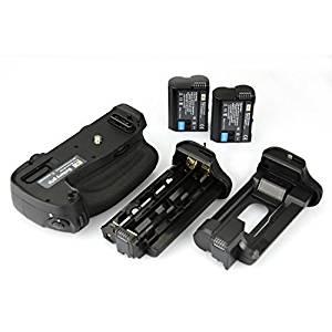 DSTE® Pro MB-D16 Vertical Battery Grip + 2x EN-EL15 for Nikon D750 SLR Digital Camera