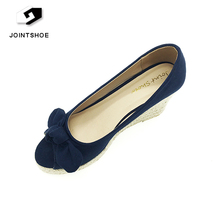 China best quality fashion women shoes wedge shoes discount