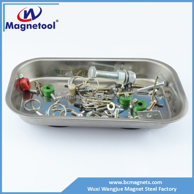 High quality Rectangular Magnetic Parts Tray Magnetic Plate