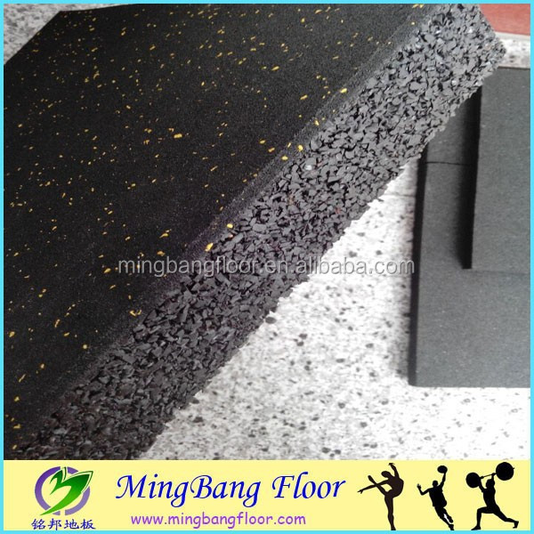 indoor outdoor gym flooring Tiles rubber granule mat
