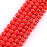 semiprecious stone beads coral red rose beads rose coral bead for jewelry making