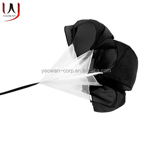 running speed training sprint chute resistance parachute football soccer sports speed training equipment