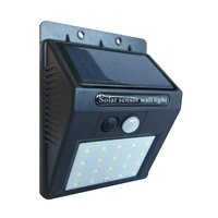 Newest product IP65 Outdoor Solar Powered auto motion spot landscape path wall mounted lighting