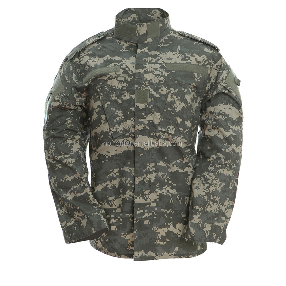 Clothing Factories in China Sale Army uniform ACU BDU Style Military Clothing