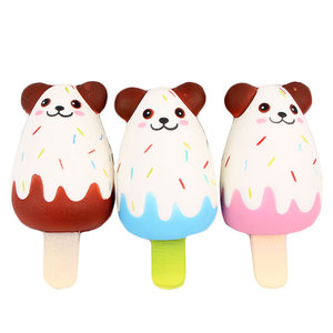 2019 New design mochi squishies ice cream of bear shape anti-stress slow rising squishy toy for kids