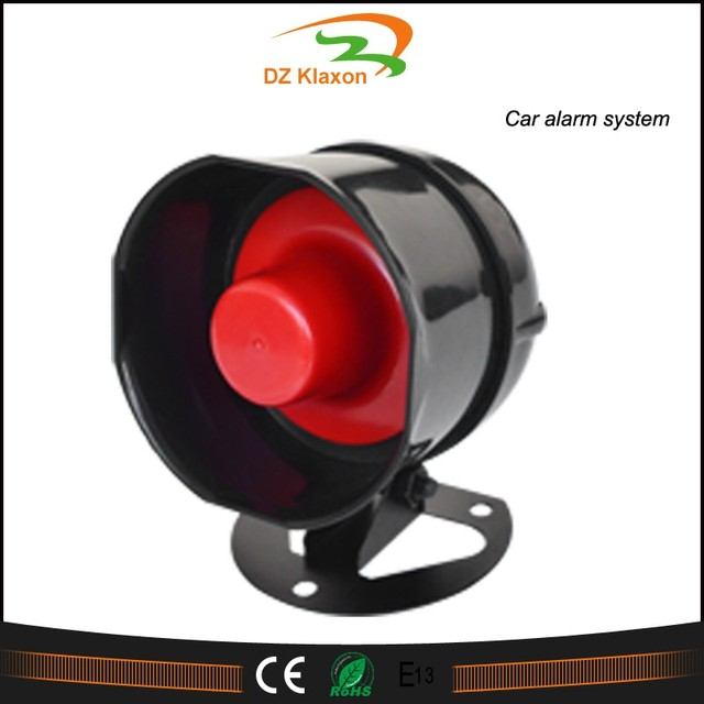 car motorcycle loud security horn 12v vehicle emergency alarm loudspeaker for ebike truck moped