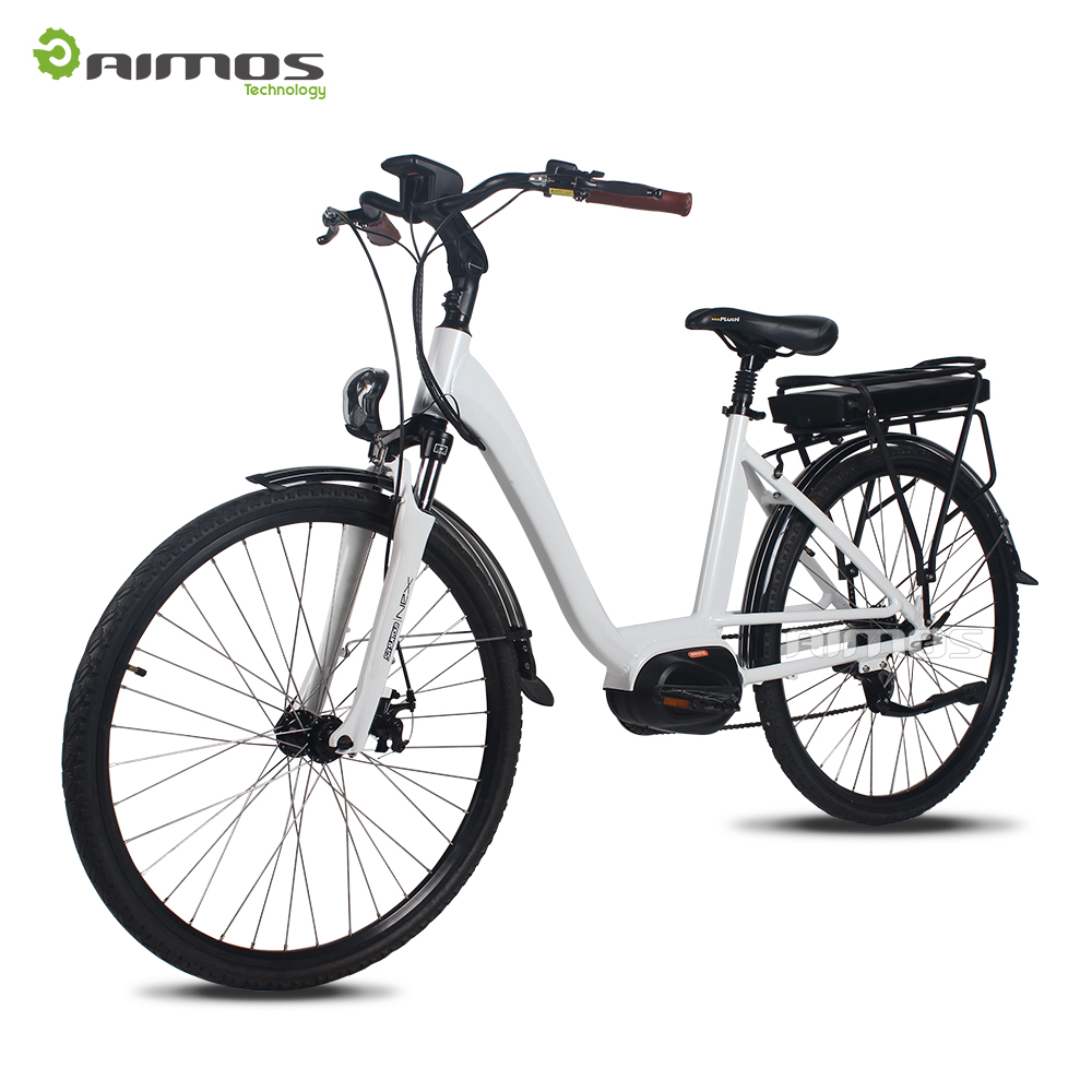 2017 latest model most welcomed hot selling city electric bike lady e bicycle with Bafang motor