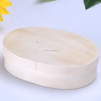 unfinished custom cheap fancy soft poplar wooden chocolate box wholesale