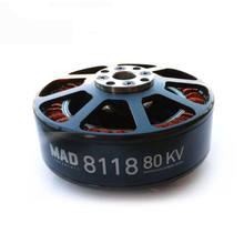 Water PROOF Multicopter Heavy Lift บิ๊ก RC brushless Motor 8118 KV80 สำหรับ 10 S-14 S