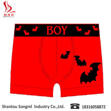 OEM Halloween Design Gift Bat Kid Boy short Lovely Underwear Manufacture Comfortable halloween costumes for kids