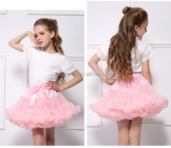 Wholesale Baby Girl Tutu Pink Dress Of 9 Years Old Birthday Party