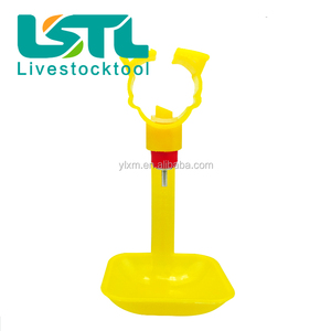 Poultry plastic automatic nipple drinker birds
