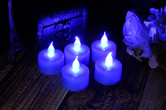 Wedding decoration color changing LED candle