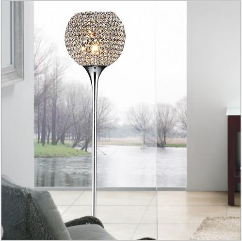 Hot Sale Luxurious Modern Brief Fashion K9 Crystal Led E27