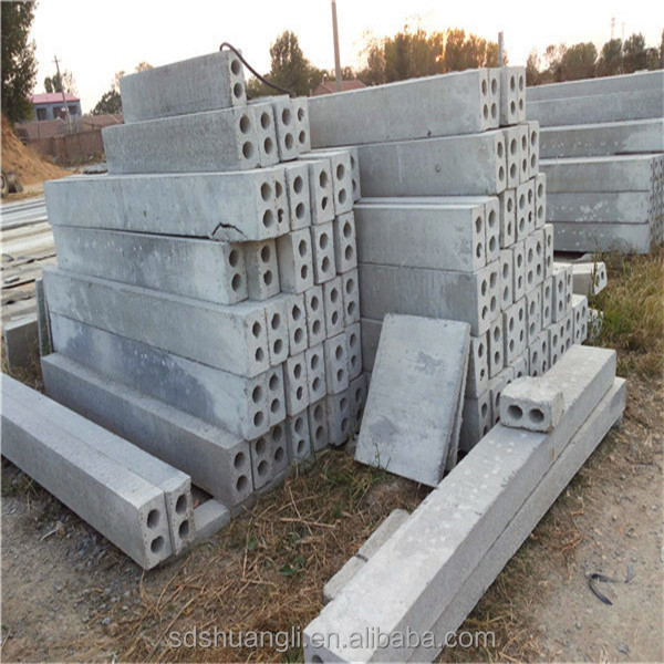 Concrete Fence Material : Building material machinery prestressed concrete fence