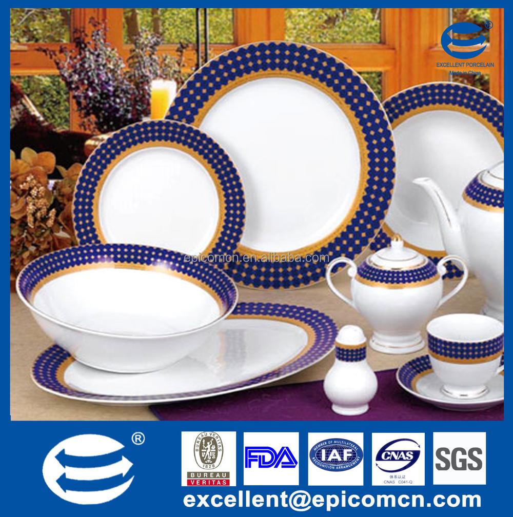 Made In China Super White Porcelain Dinner Set 24pcs Qualitier ...