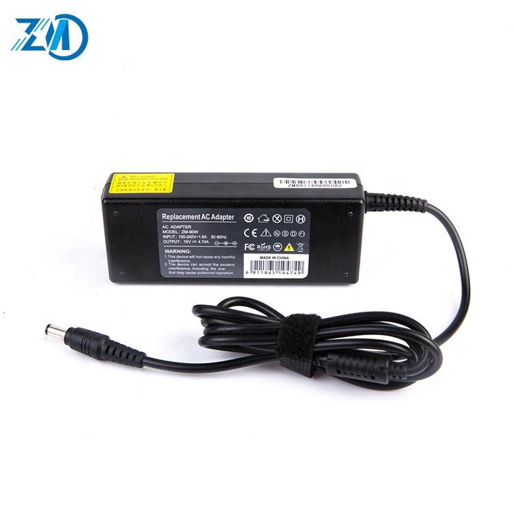 ROHS vervanging 90 w 19 v 4.74a laptop adapter voor toshiba oplader