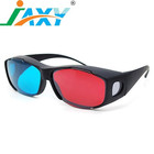 JAXY wholesale promotional Plastic Red blue/cyan 3D glasses for 3D movie and games