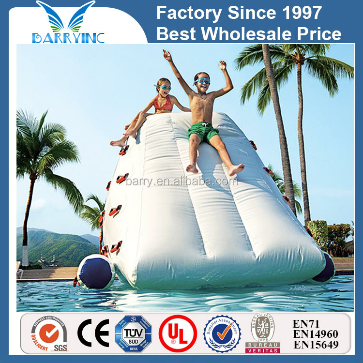 Customized inflatable iceberg toy for water parks BY-WT-014